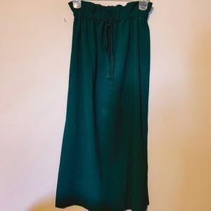 Dresses & Skirts - • n e w  p a p e r  b a g  m i d i  s k i r t •